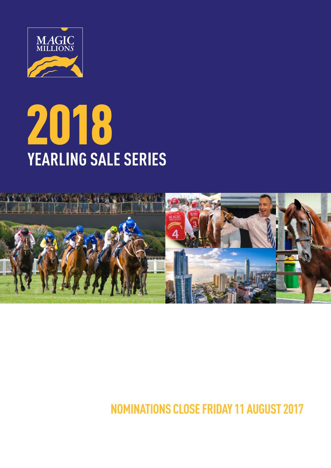 catelouge 2018 magic millions